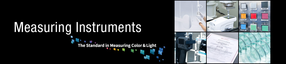 Measuring Instruments. The Standard in Measuring Color and Light.
